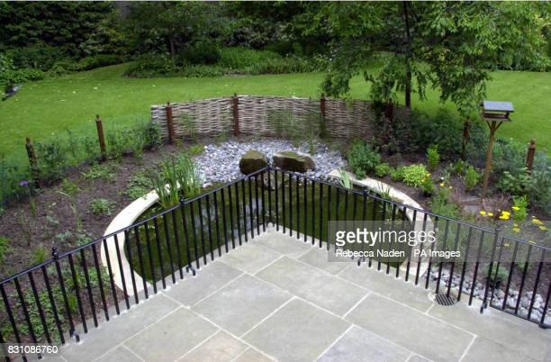 The back garden of No 10 Downing St has received a wildlifemakeover with a new childsafe pond created by the Wildlife Trust The garden is the...