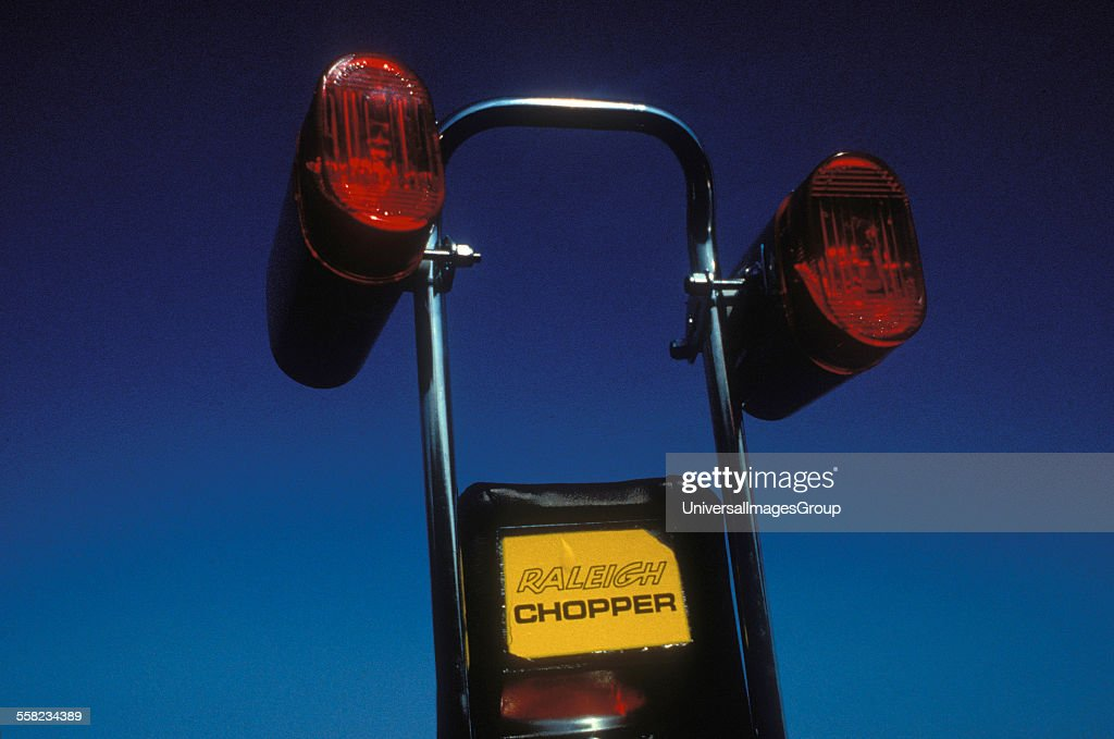The back of a Raleigh Chopper bike, UK 1980's  News Photo - Getty Images