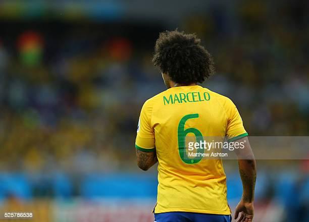 The back of Marcelo of Brazil