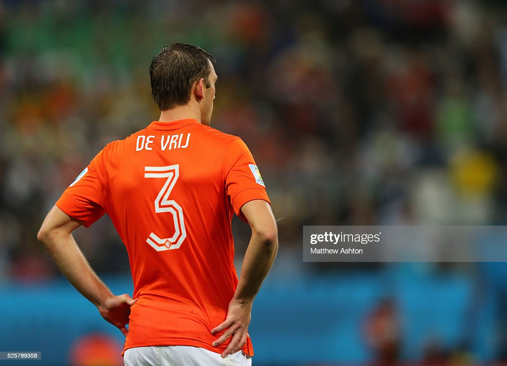 SOCCER : FIFA World Cup 2014 - Semi Final - Argentina v Netherlands : News Photo