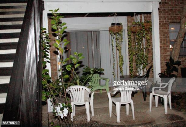 The back patio of the apartment building where Sayfullo Habibullaevic Saipov the 29yearold driver of a truck that plowed through a bike path in lower...