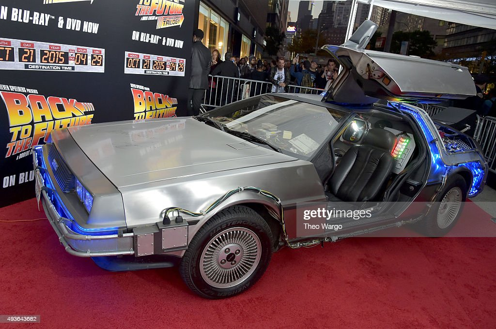 """""""Back To The Future"""" New York Special Anniversary Screening : News Photo"""