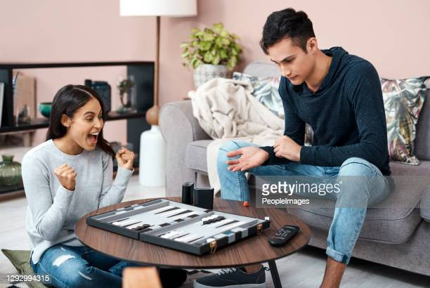 the backgammon queen of self quarantine! - backgammon stock pictures, royalty-free photos & images