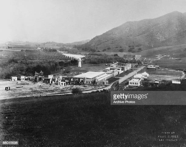 The backlot at Universal Studios California 1915