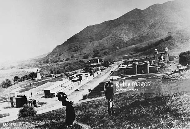 The backlot at Universal Studios California 1916