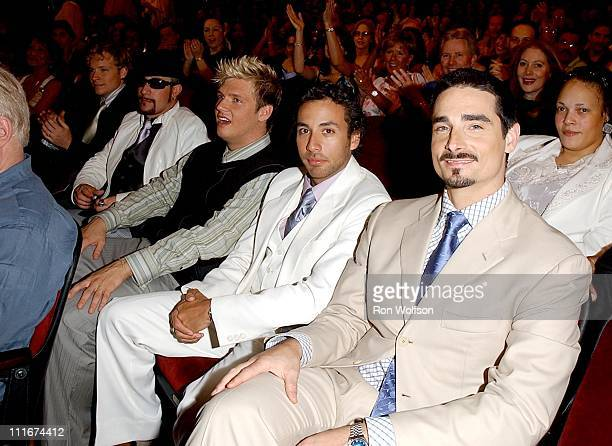 The Backstreet Boys during 'Motown 45' Anniversary Celebration Airing in May on ABC Rehearsals Day 3 at Shrine Auditorium in Los Angeles California...