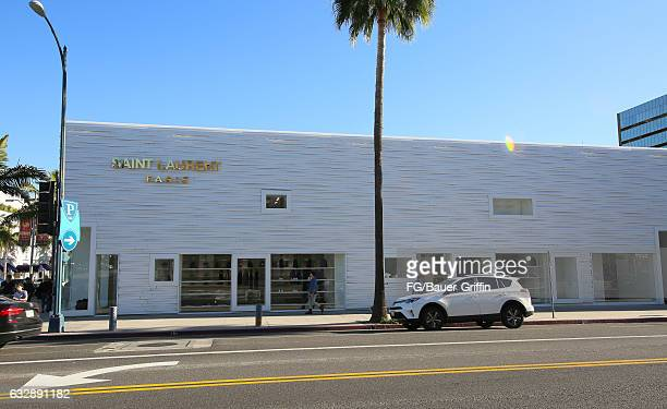 The Badgley Mischka Store on January 28 2017 in Beverly Hills California