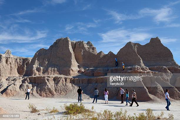 the badlands national park, south dakota - terryfic3d stockfoto's en -beelden