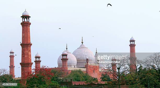 The Badshahi Mosque or the 'Royal Mosque' in Lahore, commissioned by the sixth Mughal Emperor Aurangzeb in 1671 and completed in 1673, is the second...