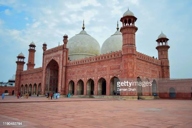 ザ・バドシャヒ・モスク,ラホール・パキスタン - パキスタン ラホール市 ストックフォトと画像
