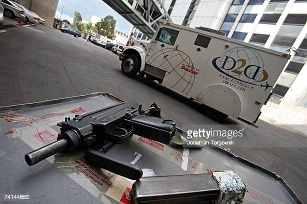 The bags of diamonds are driven by armored trucks directly from Israels BenGurion airport to the diamond exchange complex November 2005 in RamatGan...