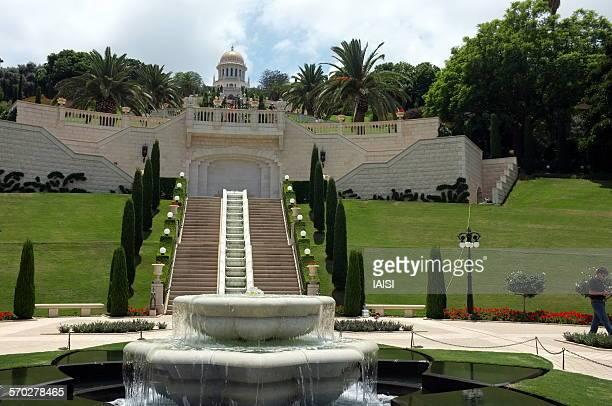 The Baha'i Temple, on the slopes of Mount Carmel