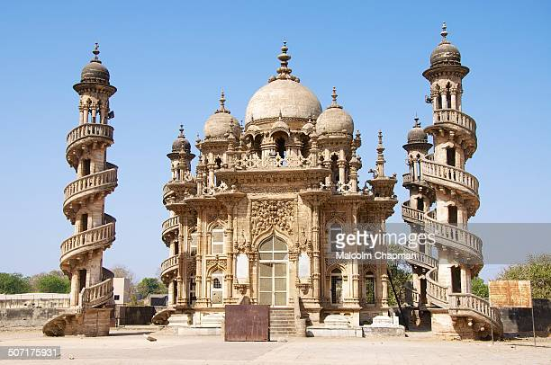 CONTENT] The Bahauddin Makbara in Junagadh Gujarat is the tomb of Baharuddin Bhar the Wazir of Junagadh This mausoleum next to the Mahabat Makbara is...