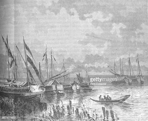 The BahrElGazelle' circa 188185 Episode of the Mahdist War From British Battles on Land and Sea Vol IV by James Grant [Cassell Petter Galpin London...