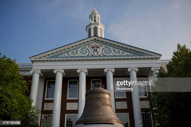 The Baker Library of the Harvard Business School stands on Harvard University campus in Cambridge Massachusetts US on Tuesday June 30 2015 Harvard...