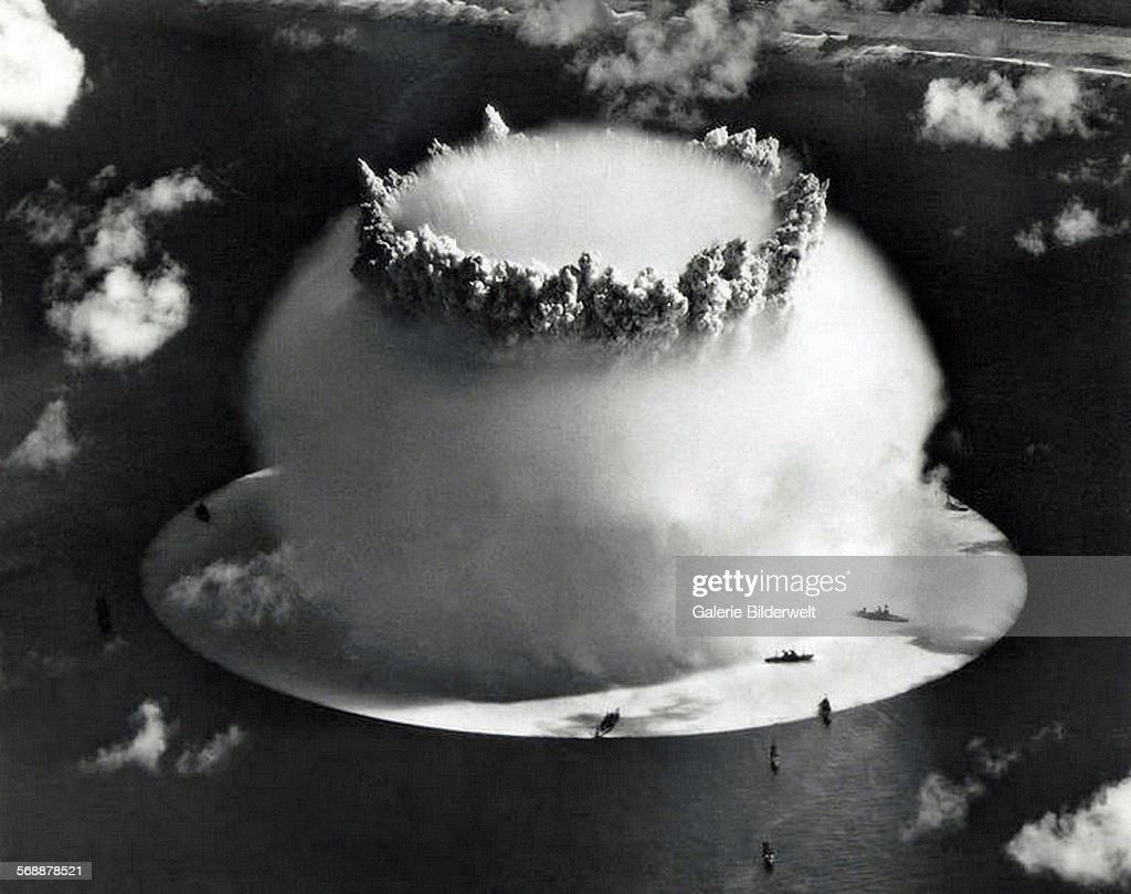 Nuclear Test USA - Crossroads : News Photo