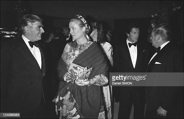 "The ""Bal de la Rose"" In Monaco city, Monaco On May 27, 1979 - Grace de Monaco."