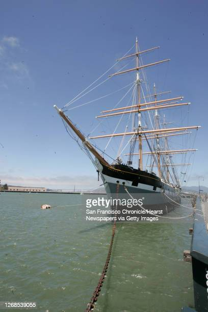 """The Balclutha receives some rust removal.volunteer's and National Park Service's employees will be at the Historic """"National Maritime Museum"""" located..."""