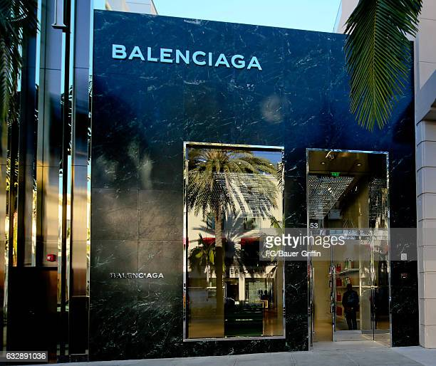The Balenciaga Store on January 28, 2017 in Beverly Hills, California.