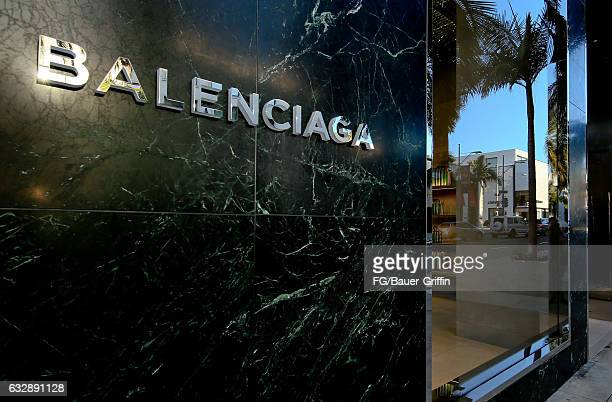 The Balenciaga Store on January 28 2017 in Beverly Hills California