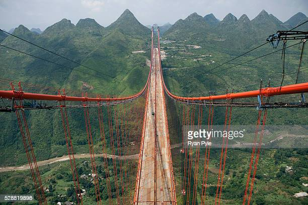 The Baling River Bridge, due to be completed in early 2010, is one of China's longest suspension bridges. Measuring 1.4 miles the project is a marvel...