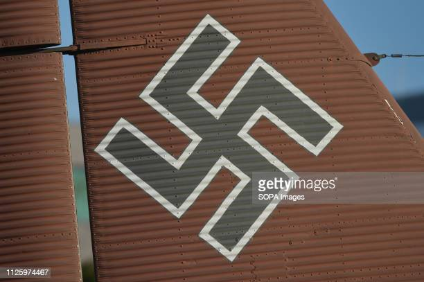 The Balkenkreuz a straightarmed cross insignia seen painted on the Junkers Ju 52 at the Polish Aviation Museum The Polish Aviation Museum is located...