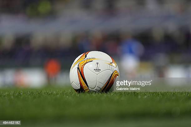 The ball of the match during the UEFA Europa League group I match between ACF Fiorentina and KKS Lech Poznan on October 22 2015 in Florence Italy