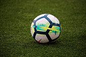 ball spanish league during match between