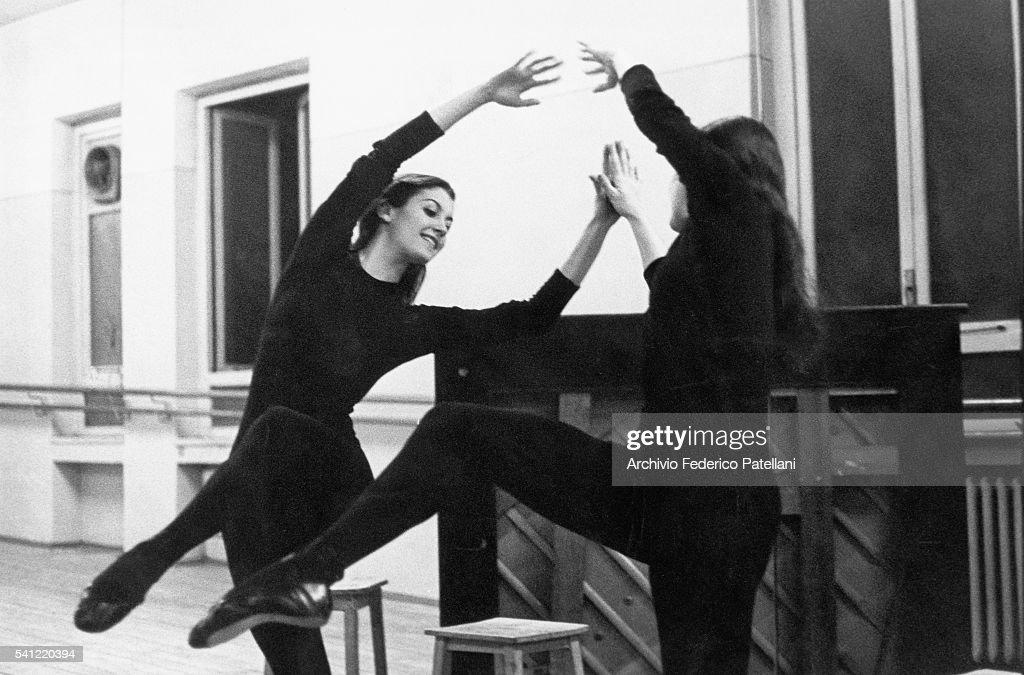 Dancer Carla Fracci : Foto di attualità