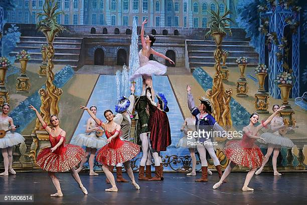 The 'Ballet of Moscow' was performed at the Teatro Alfieri in Turin These days the play is performed and stages in several other cities 'The Sleeping...