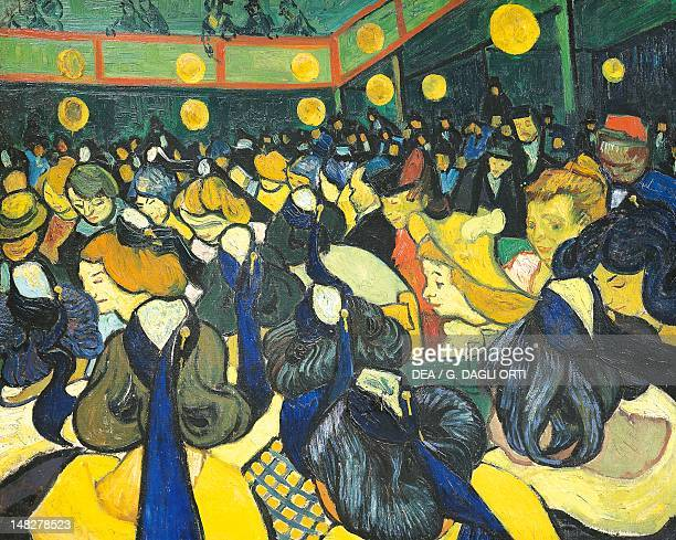 The ballroom at Arles by Vincent van Gogh oil on canvas 65x81 cm