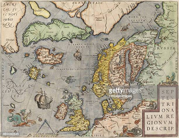 Theatrum Orbis Terrarum c 16081610 From a private collection
