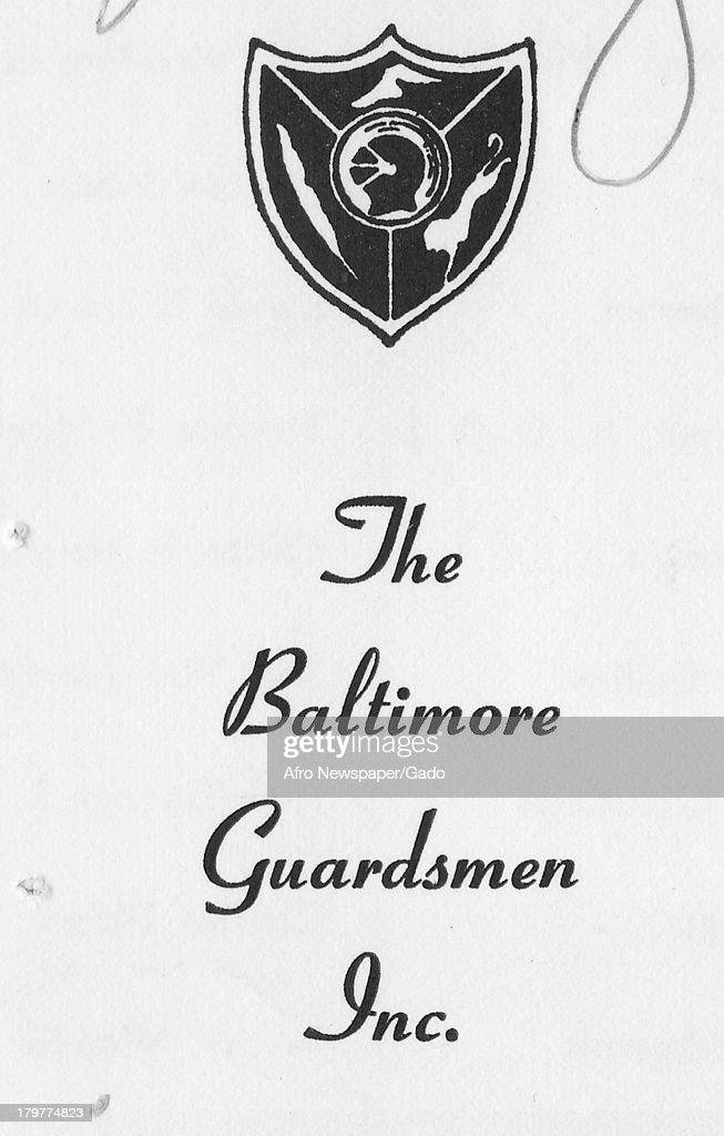 Baltimore Guardsmen Rsvp Card Pictures | Getty Images