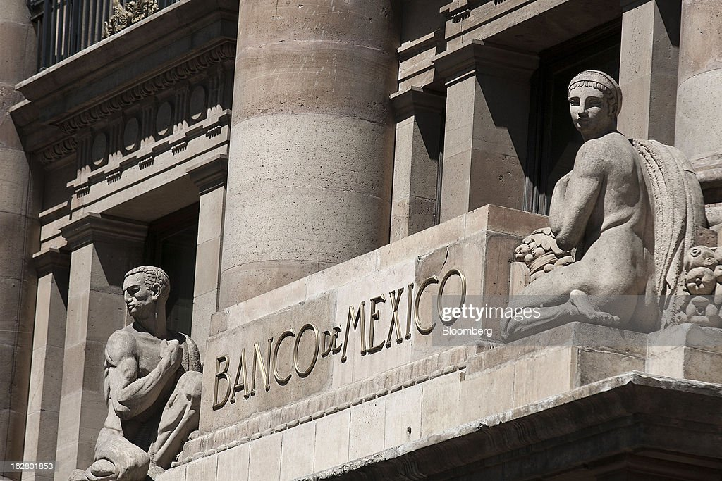 Views Of Banco De Mexico Ahead Of Next Week's Interest Rate Meeting : News Photo