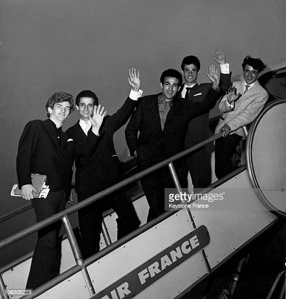The Band Composed Of His initial Members: Eddy Mitchell, William Benaim, Tony D'Arpa, Aldo Martinez And Jean-Pierre Chichportich.