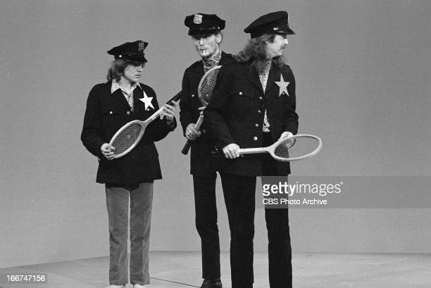 The band Cream on THE SUMMER BROTHERS SMOTHERS SHOW From left Jack Bruce Ginger Baker and Eric Clapton Image dated May 24 1968