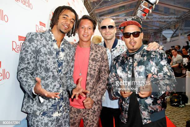 The band Culcha Candela attends the Raffaello Summer Day 2017 to celebrate the 27th anniversary of Raffaello on June 23 2017 in Berlin Germany