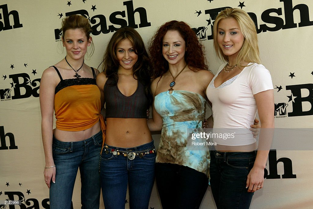 The band Dream attends MTV's 'BASH' at the Hollywood Palladium June 28, 2003 in Hollywood California.