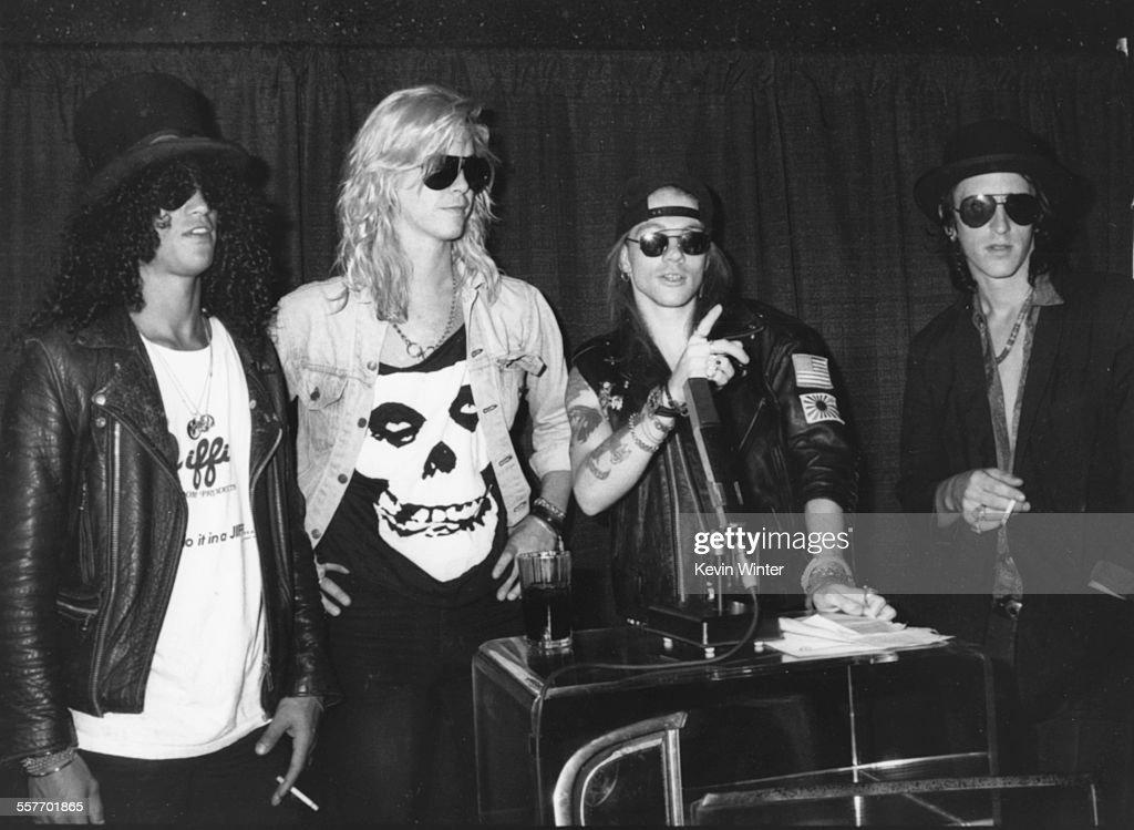 Guns N' Roses : News Photo