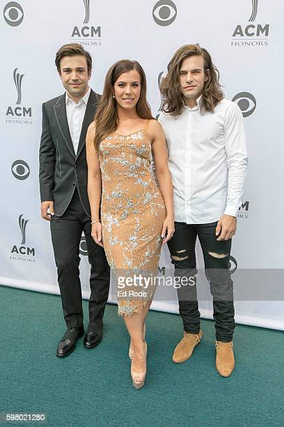 The Band Perry attends the 10th Annual ACM Honors at Ryman Auditorium on August 30 2016 in Nashville Tennessee