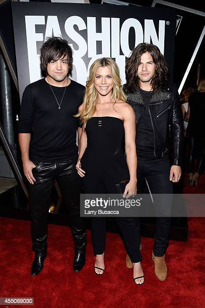 The Band Perry members Neil Perry Kimberly Perry Reid Perry attend Fashion Rocks 2014 presented by Three Lions Entertainment at the Barclays Center...