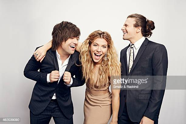 The Band Perry poses during the The 41st Annual People's Choice Awards at Nokia Theatre LA Live on January 7 2015 in Los Angeles California