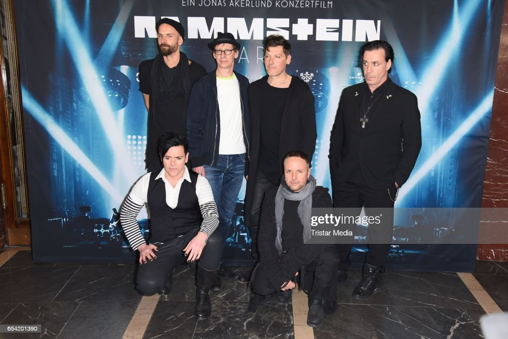 Rammstein paris world premiere in berlin photos and images getty the band rammstein attend the world premiere of the film rammstein paris konzertfilm m4hsunfo Choice Image