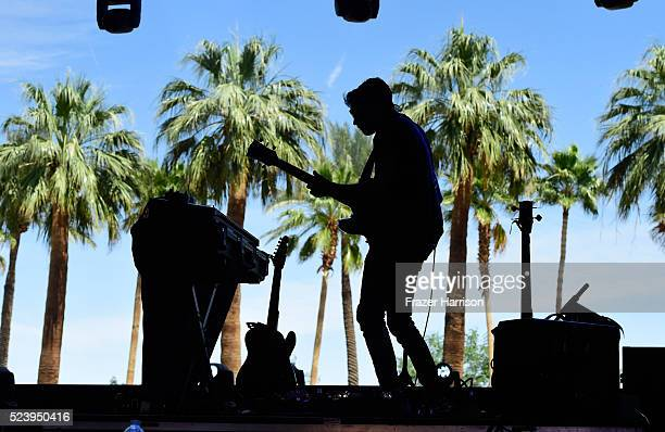 The band TeiShi performs onstage during day 3 of the 2016 Coachella Valley Music Arts Festival Weekend 2 at the Empire Polo Club on April 24 2016 in...