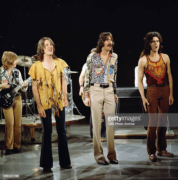 The band, Three Dog Night (from left: Cory Wells, Chuck Negron and Danny Hutton on THE GLEN CAMPBELL GOODTIME HOUR. Image dated September 14, 1971.