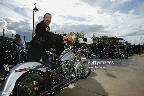 The Bandidos come to the Ridges Hotel on October 17 2003 in Caloundra Australia