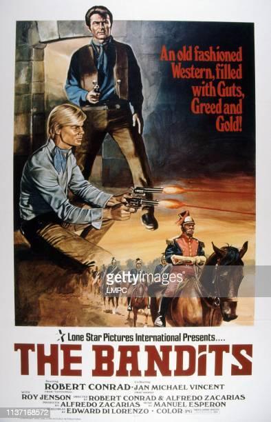 The Bandits poster US poster top from left Jan Michael Vincent Robert Conrad 1967