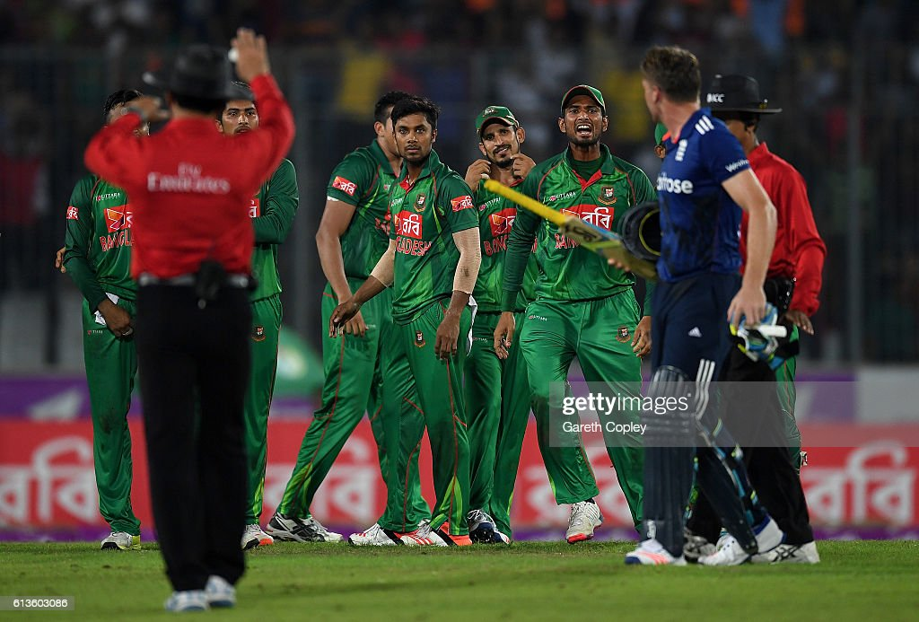 Bangladesh v England - 2nd One Day International