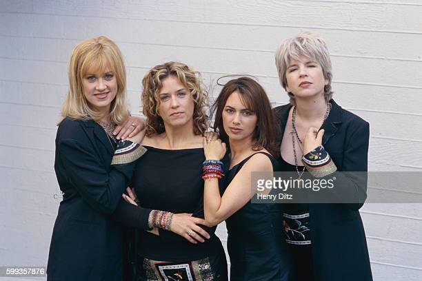 The Bangles are left to right Debbi Peterson Vicki Peterson Susanna Hoffs and Michael Steele
