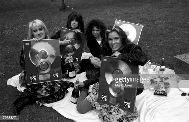 The Bangles Disc Presentation Hyde Park Hotel London